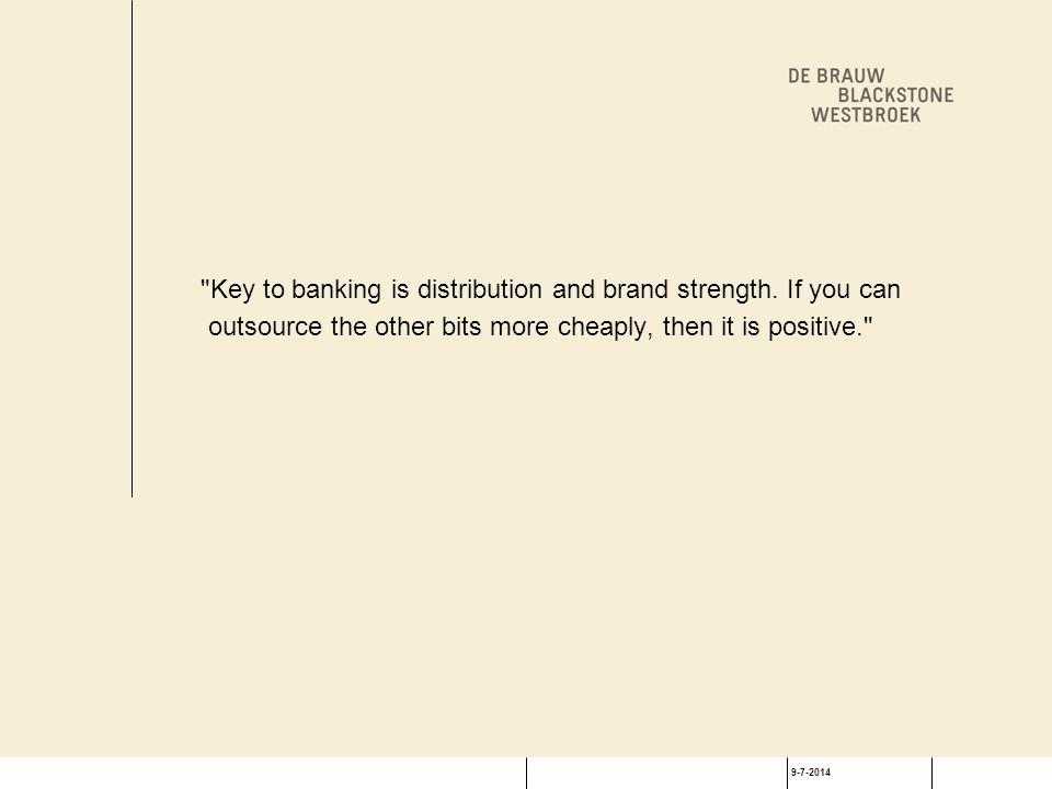 9-7-2014 Belangrijkste reden verlenging contract: kwaliteit dienstverlening 60% van de klanten veranderde van leverancier.