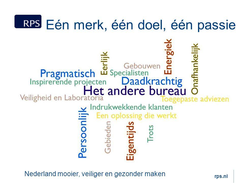 Eén merk, één doel, één passie Nederland mooier, veiliger en gezonder maken rps.nl