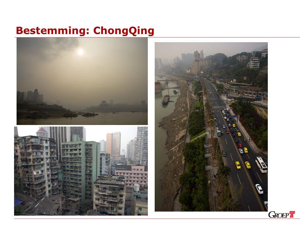 Bestemming: ChongQing