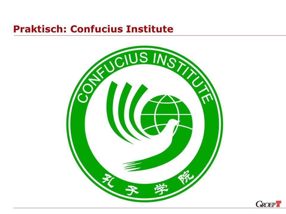 Praktisch: Confucius Institute