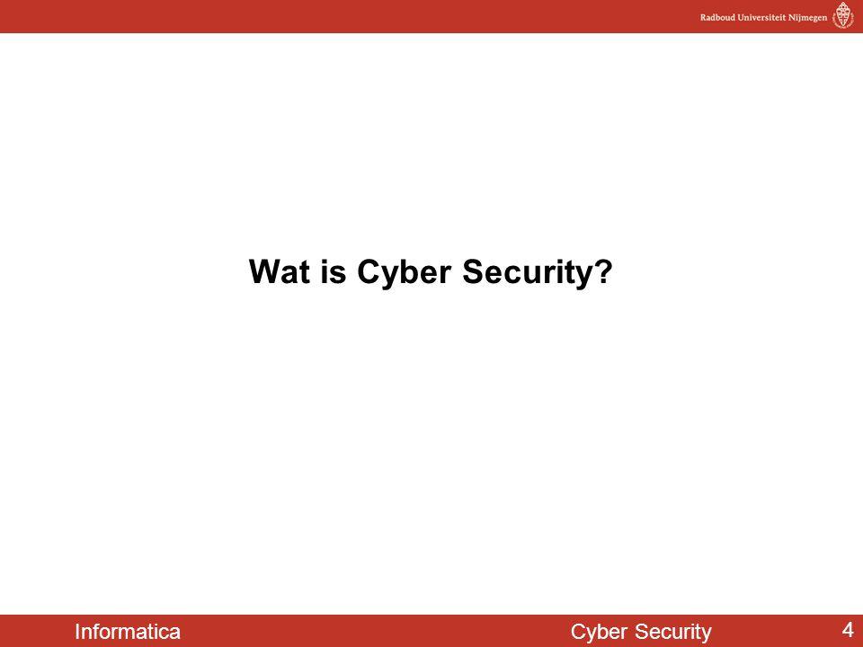 Informatica Cyber Security 5 Beveiligen van computers