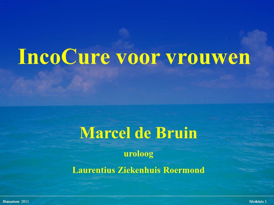 Huisartsen 2011MediArts 1 Marcel de Bruin uroloog Laurentius Ziekenhuis Roermond IncoCure voor vrouwen