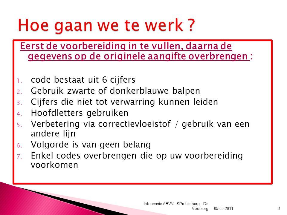 05.05.2011 Infosessie ABVV - SPa Limburg - De Voorzorg14