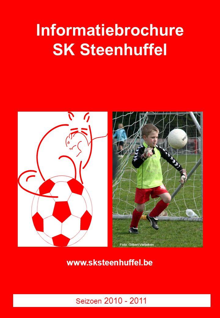 Informatiebrochure SK Steenhuffel Seizoen 2010 - 2011 Foto: Gilbert Verbeken www.sksteenhuffel.be