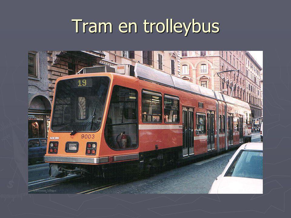 Tram en trolleybus