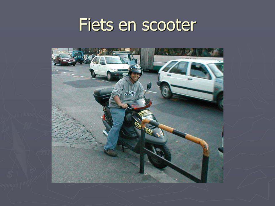 Fiets en scooter