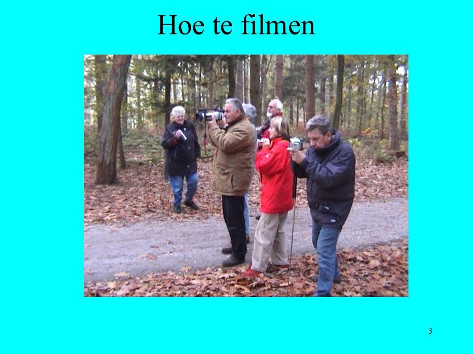 3 Hoe te filmen
