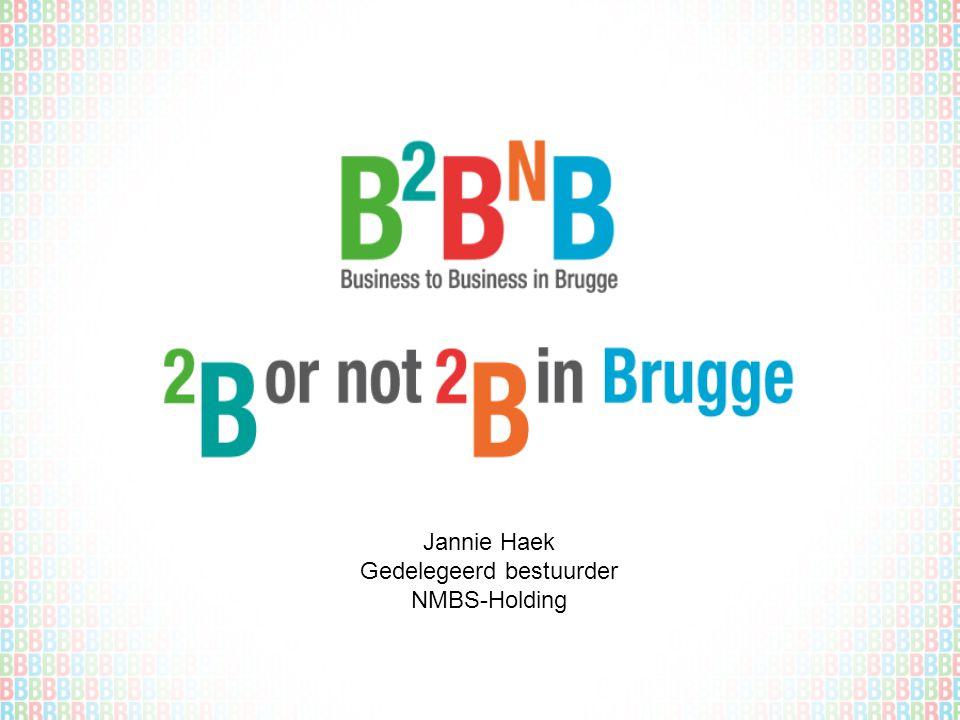 Jannie Haek Gedelegeerd bestuurder NMBS-Holding