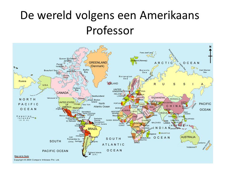 De wereld volgens een Amerikaans Professor