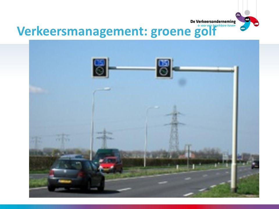 Verkeersmanagement: groene golf