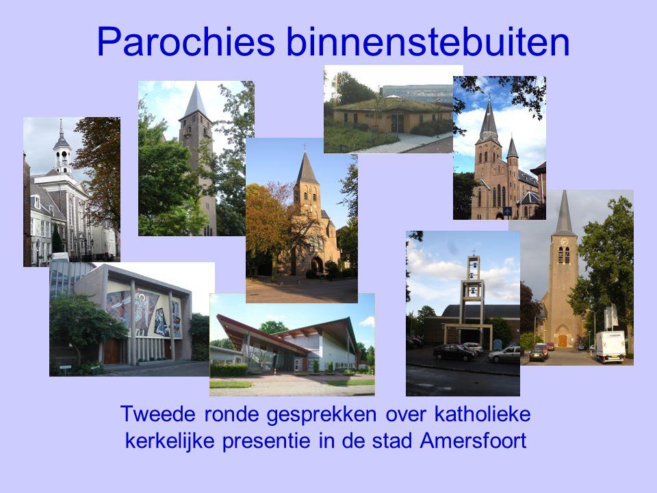 Parochies binnenstebuiten Tweede ronde gesprekken over katholieke kerkelijke presentie in de stad Amersfoort