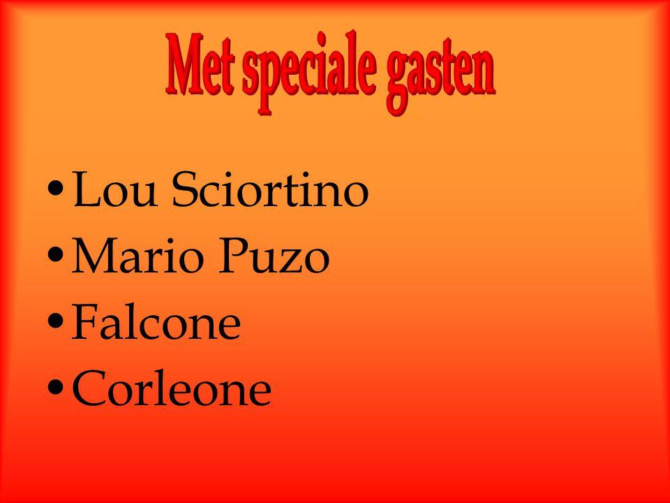 Lou Sciortino Mario Puzo Falcone Corleone