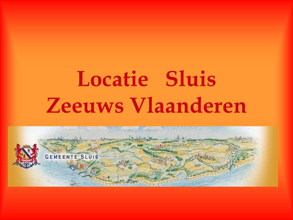 Locatie Sluis Zeeuws Vlaanderen