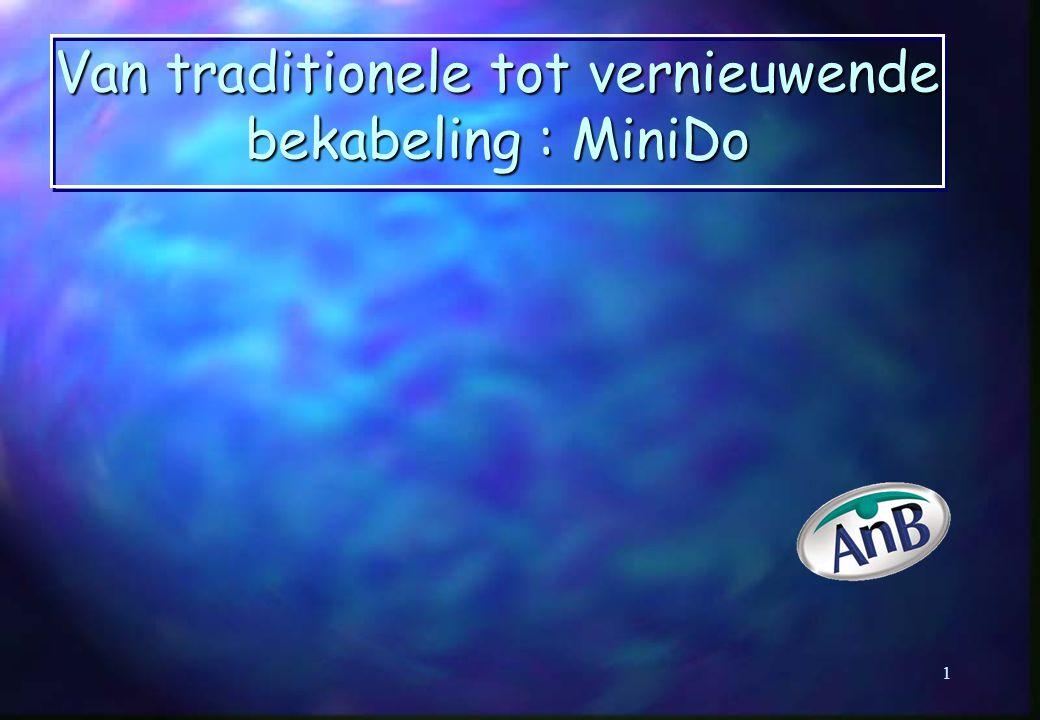 Van traditionele tot vernieuwende bekabeling : MiniDo 1