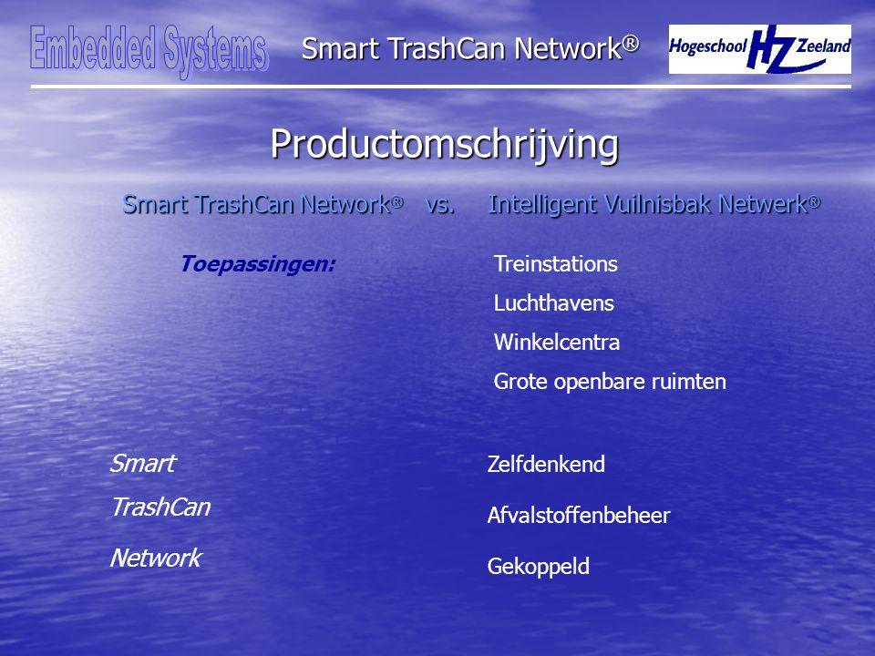 Productomschrijving Smart TrashCan Network ® vs.