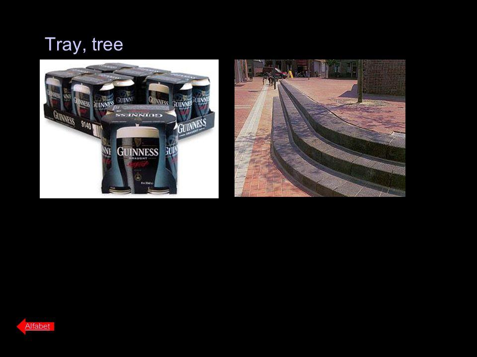 Tray, tree Alfabet