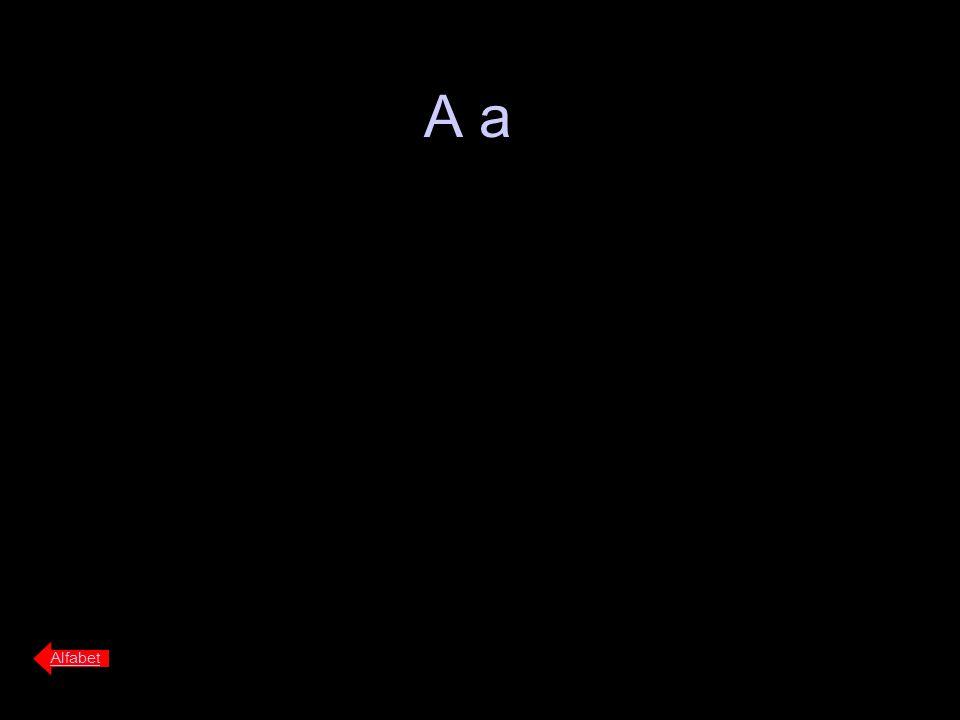 Alfabet Kant(water)kant