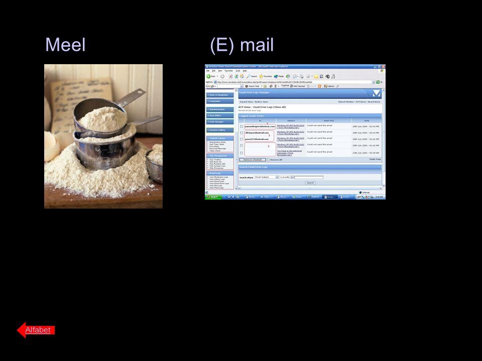Meel Alfabet (E) mail