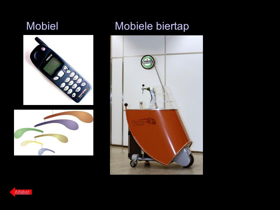 Mobiel Alfabet Mobiele biertap