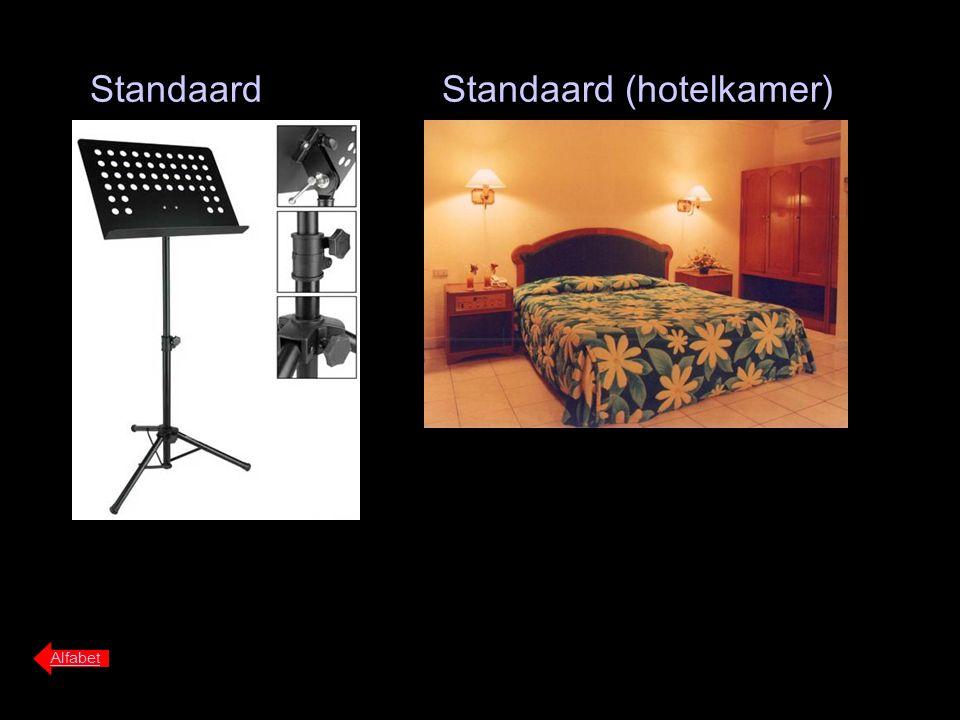 Standaard Alfabet Standaard (hotelkamer)