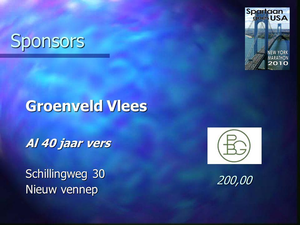 Sponsors Rijnmond Marathon Reizen De meest complete Boompjes 410 Rotterdam 2.200,00