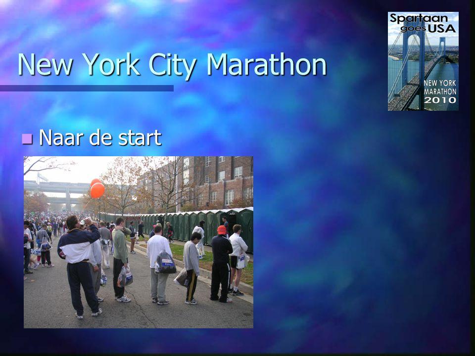 New York City Marathon Vanaf 1976 door vijf wijken Vanaf 1976 door vijf wijken - Staten Island(start) - Brooklyn - Queens - The Bronx - Manhattan(2x/finish)