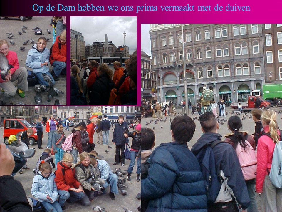 Een ander stukje Amsterdam werd ook nog even bezocht….