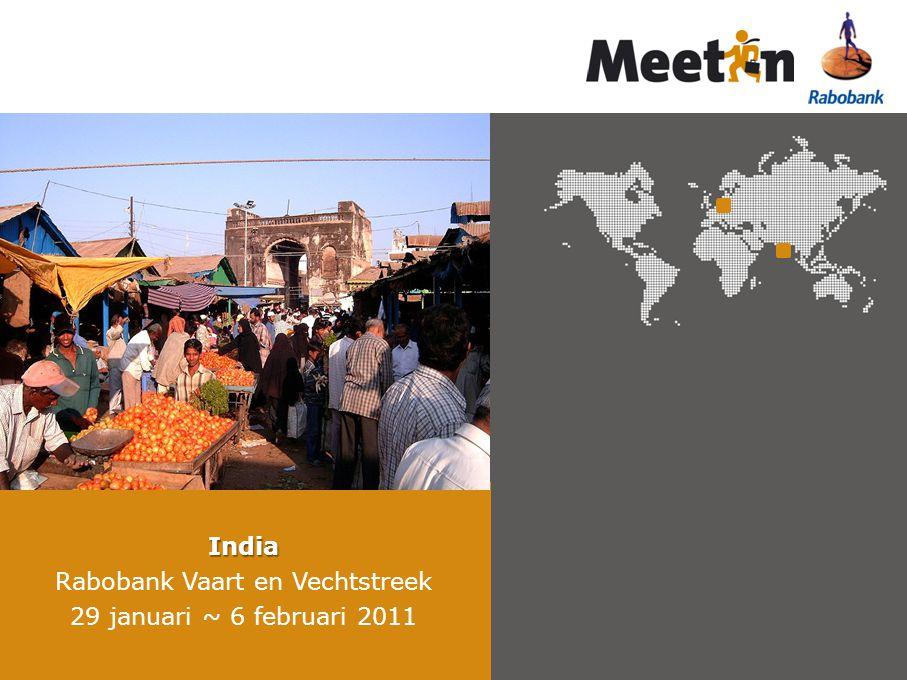 India Rabobank Vaart en Vechtstreek 29 januari ~ 6 februari 2011