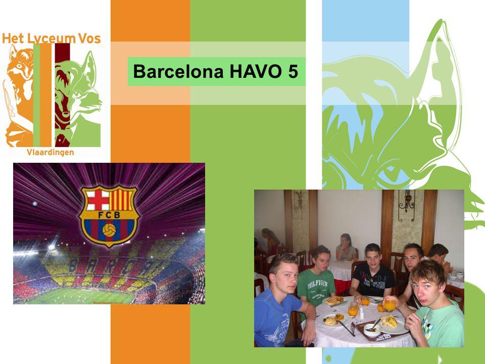 Barcelona HAVO 5