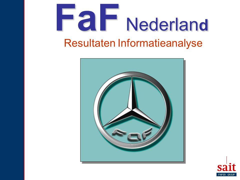 FaF Nederlan d Resultaten Informatieanalyse
