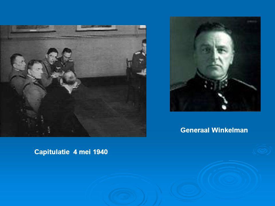 Capitulatie 4 mei 1940 Generaal Winkelman