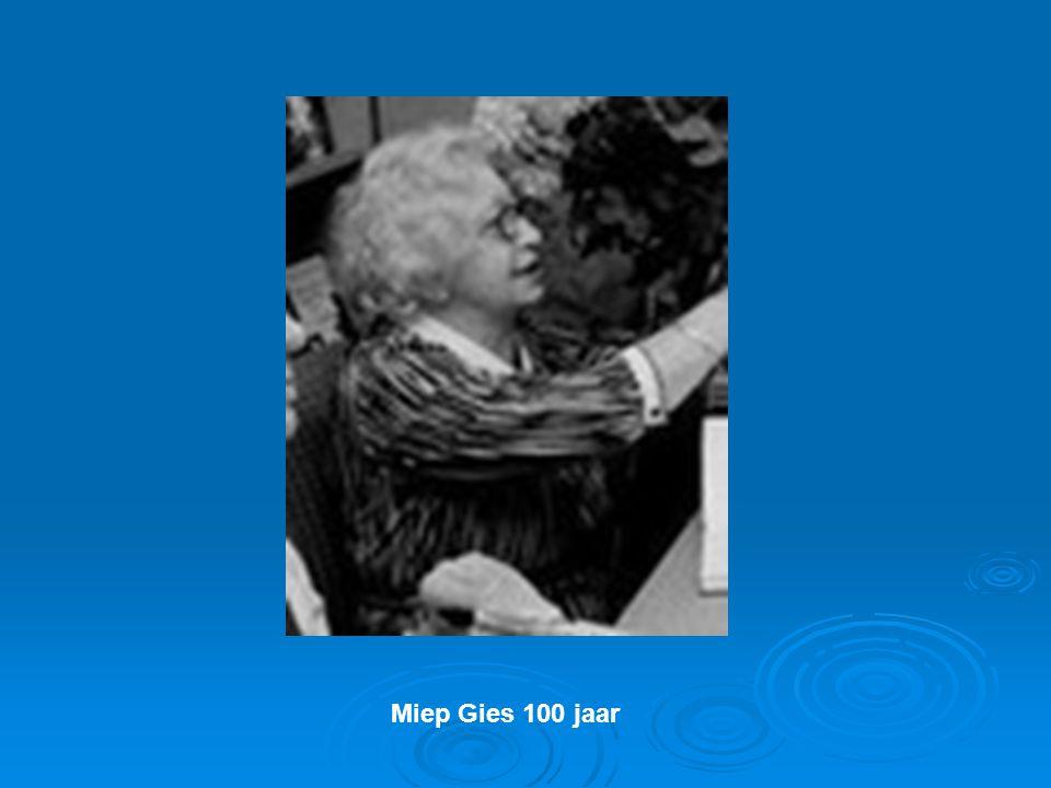 Miep Gies 100 jaar