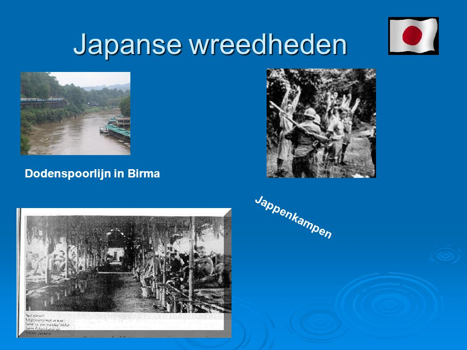 Japanse wreedheden Dodenspoorlijn in Birma Jappenkampen