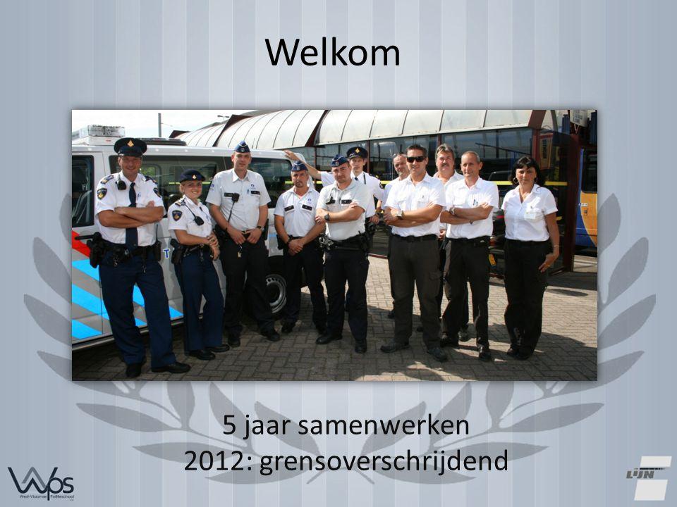 Welkom 5 jaar samenwerken 2012: grensoverschrijdend