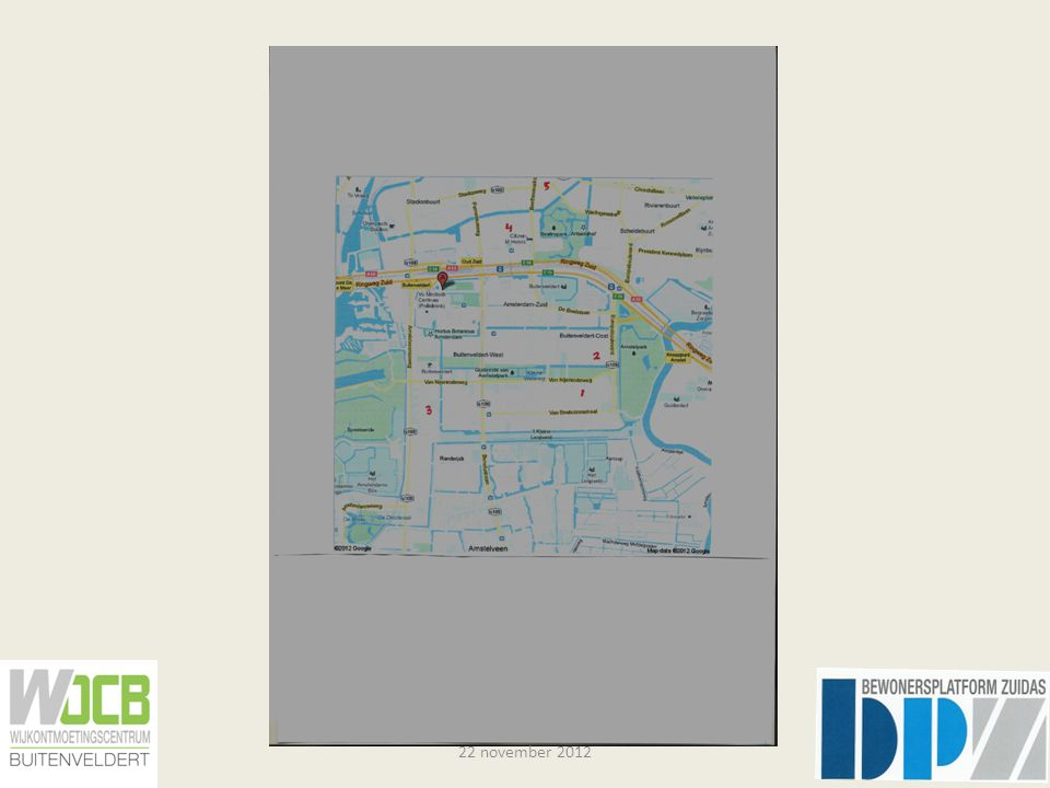 5 adressen, 5 bestemmingen Gelderland- plein Station ZuidConcert- gebouw LeidsepleinVUmc Drakenstein62 + 4 minuten 62,50/51+ 5 minuten 199 + 16 minuten 62,5+ 7 minuten 176,16 + 12 minuten 62,50/51, 5+ 11 minuten 62,51,10+ 7 minuten 62,5 + 7 minuten 176,5, + 15 minuten 176 + 15 minuten 62 + 5 minuten 22 november 2012