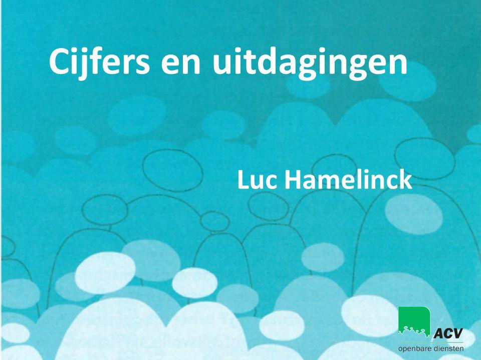 Cijfers en uitdagingen Luc Hamelinck