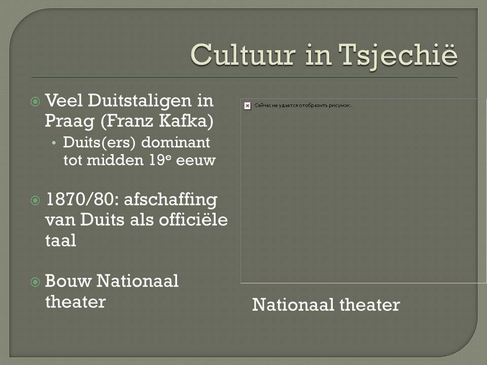 Opera's van Smetana en Dvorak Praag wordt van multiculturele stad …..