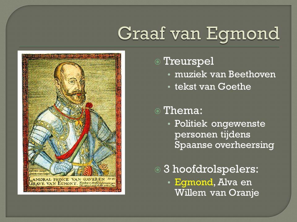 Ouverture Egmont gecomponeerd in 1810 Ten tijde van overheersing Napoleon Deze heeft zichzelf gekroond tot keizer Beethoven was daar ziedend over 1956: herkenningsmelodie Hongaarse opstand