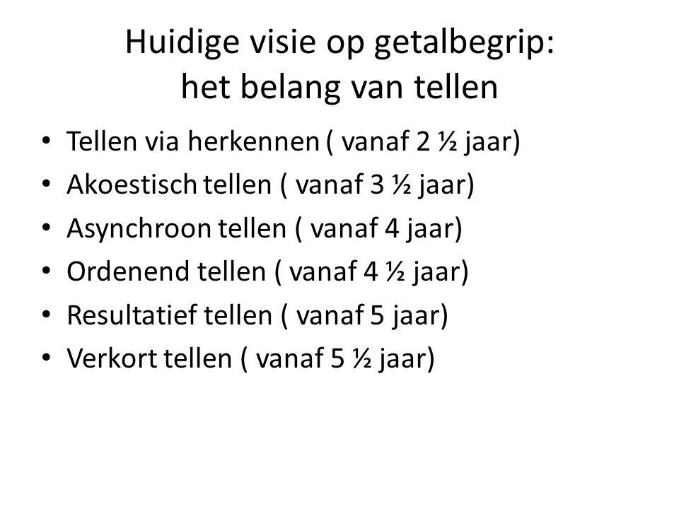 Signaleren van vroege problemen De Utrechtse Getalbegrip Toets geeft een betrouwbare en valide indicatie van mogelijke problemen in het voorbereidend rekenen.