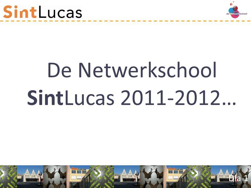Dia 1 De Netwerkschool SintLucas 2011-2012…
