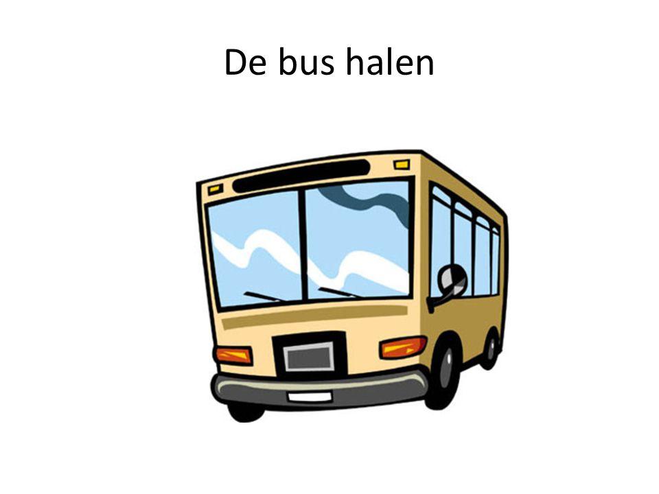 De bus halen