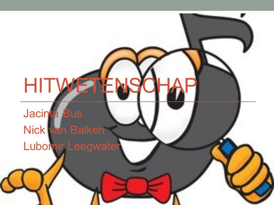HITWETENSCHAP Jacinta Bus Nick van Balken Lubomir Leegwater
