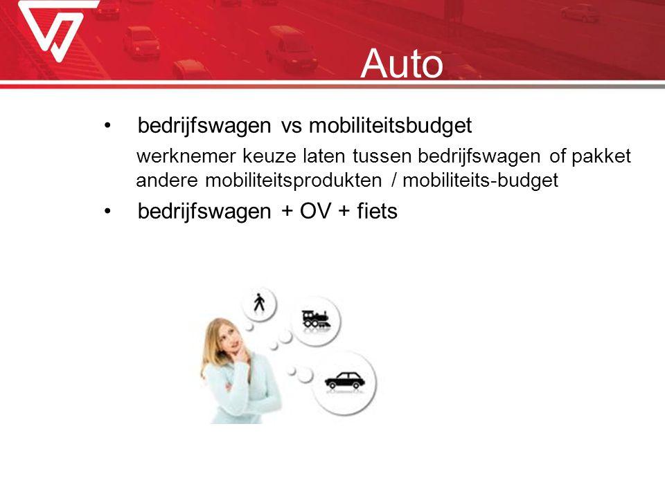 bedrijfswagen vs mobiliteitsbudget werknemer keuze laten tussen bedrijfswagen of pakket andere mobiliteitsprodukten / mobiliteits-budget bedrijfswagen