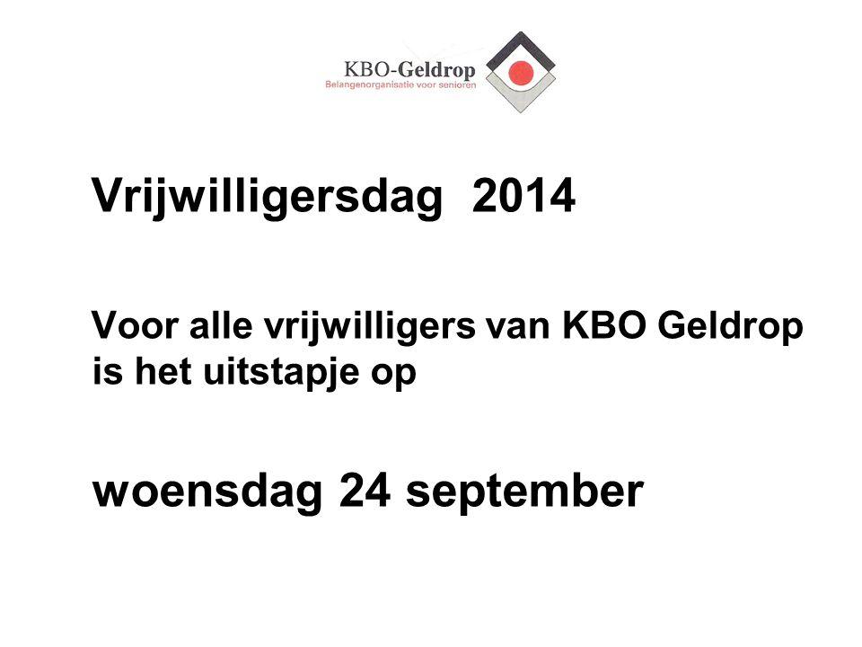 Zomeractiviteiten In de maanden juni, juli en augustus worden een drietal activiteiten georganiseerd door de Commissie Educatie en Ontmoeting Voor verdere info zie de Nieuwsbrief of www.kbogeldrop.nl