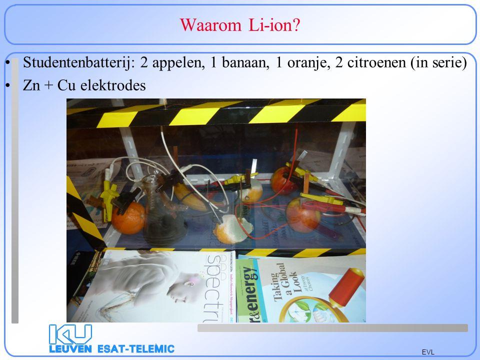 EVL Waarom Li-ion.
