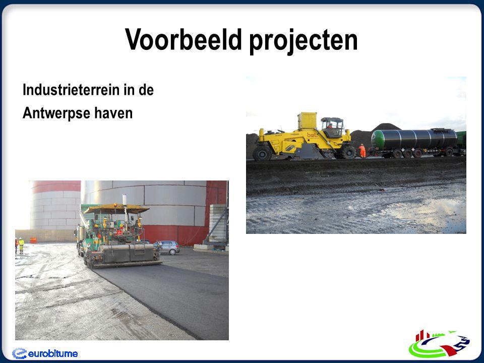 Voorbeeld projecten Industrieterrein in de Antwerpse haven