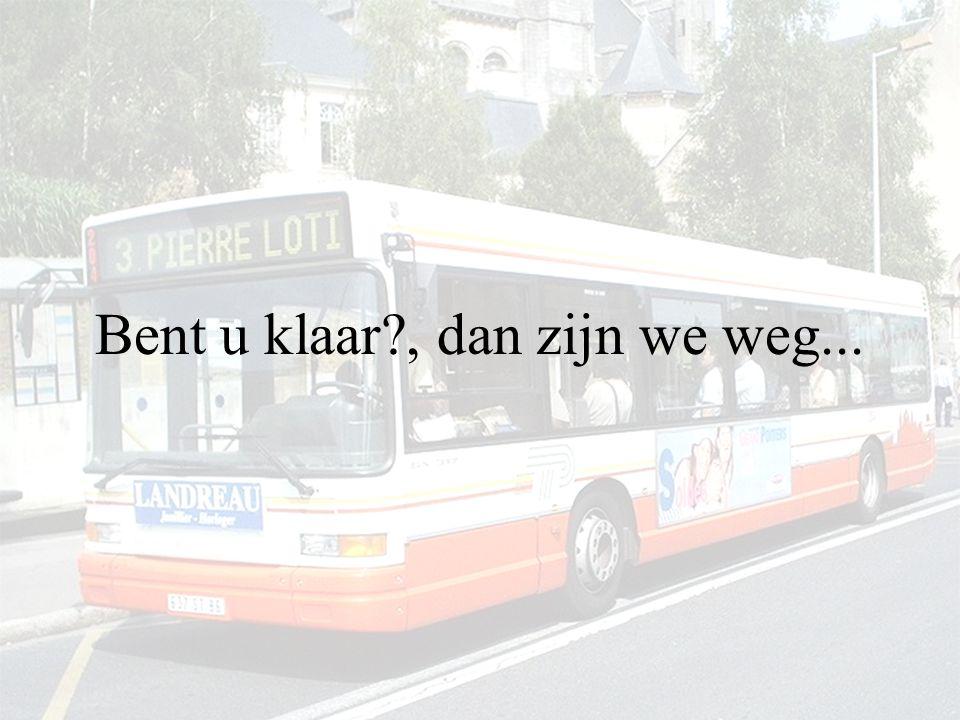 ..Hoeveel maal is de bus gestopt ???