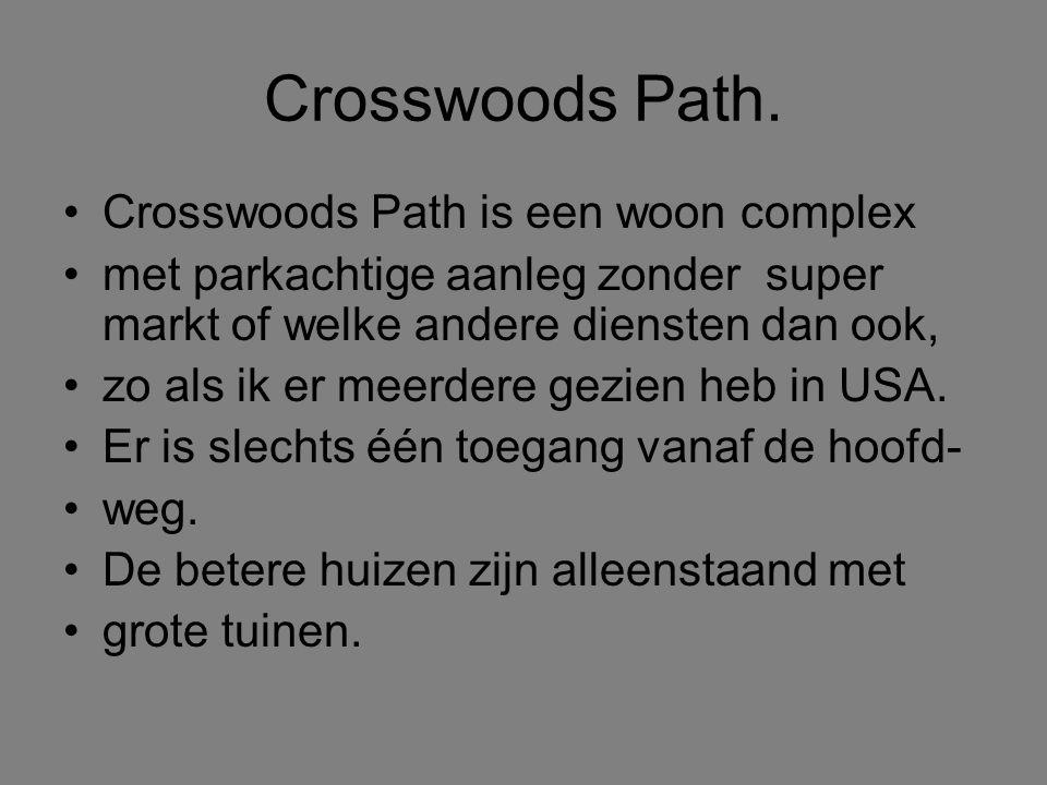 Crosswoods Path.