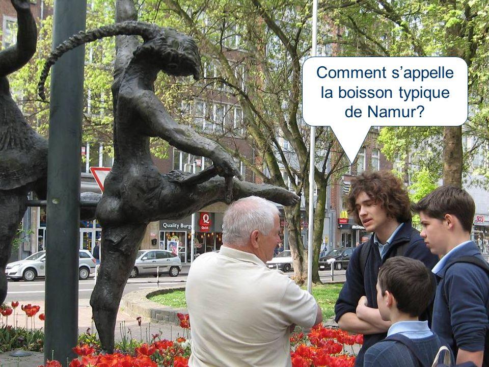 Comment s'appelle la boisson typique de Namur