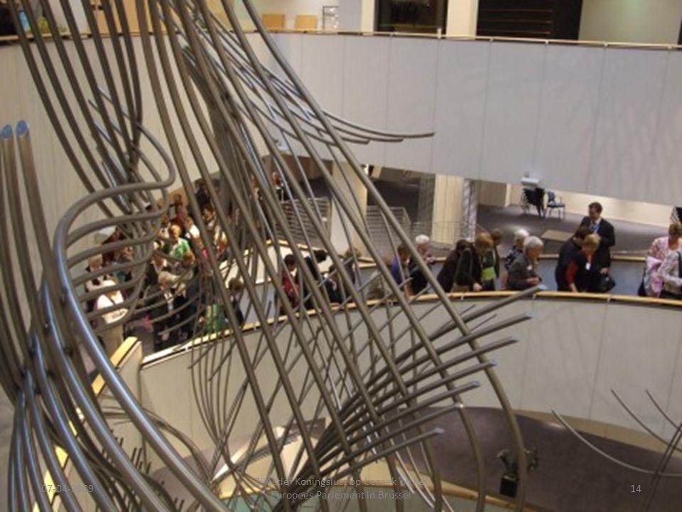 07-04-2009 ZijActief Koningslust op bezoek bij het Europees Parlement in Brussel 14